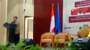 Pembukaan Seminar Oleh Ka Unit PPM Poltekkes Kemenkes Surabaya